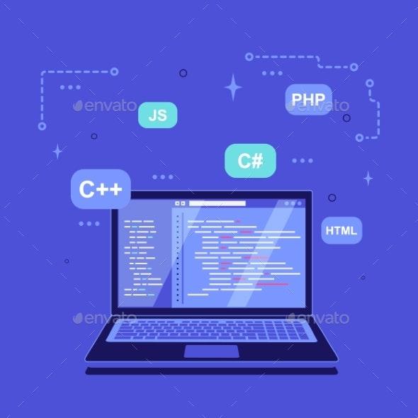 Coding Programming Application Development - Computers Technology