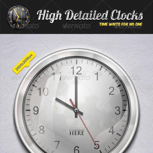 High Detailed Clocks