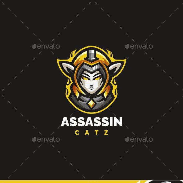 Assassin Girl Logo
