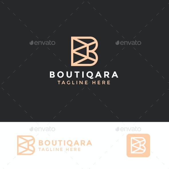 Logo Letter B - BOUTIQARA