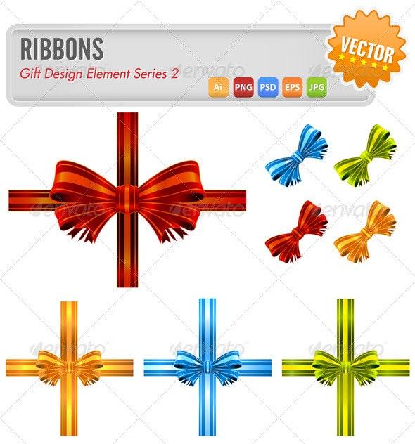 Vector Ribbons - Decorative Vectors