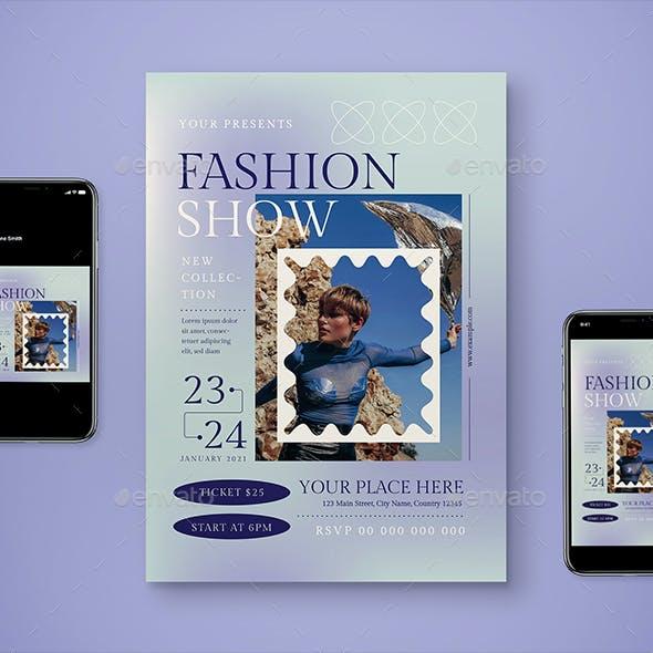 Fashion Show Flyer Set