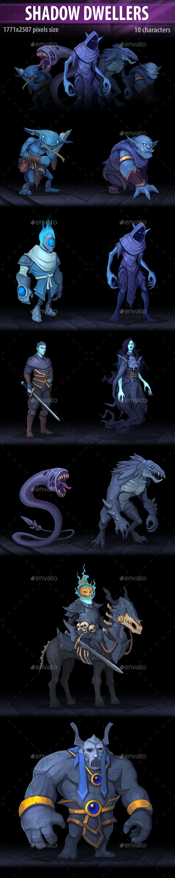 Shadow Dwellers - Miscellaneous Game Assets