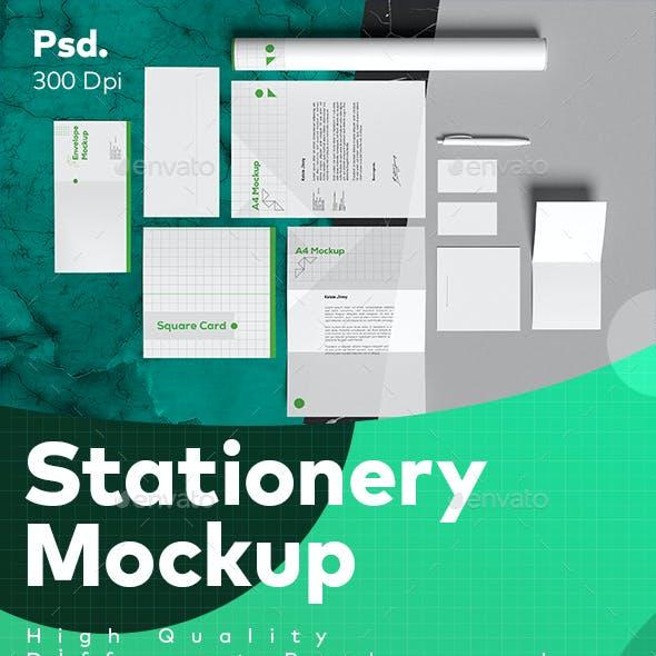 Professional Stationery Mockup