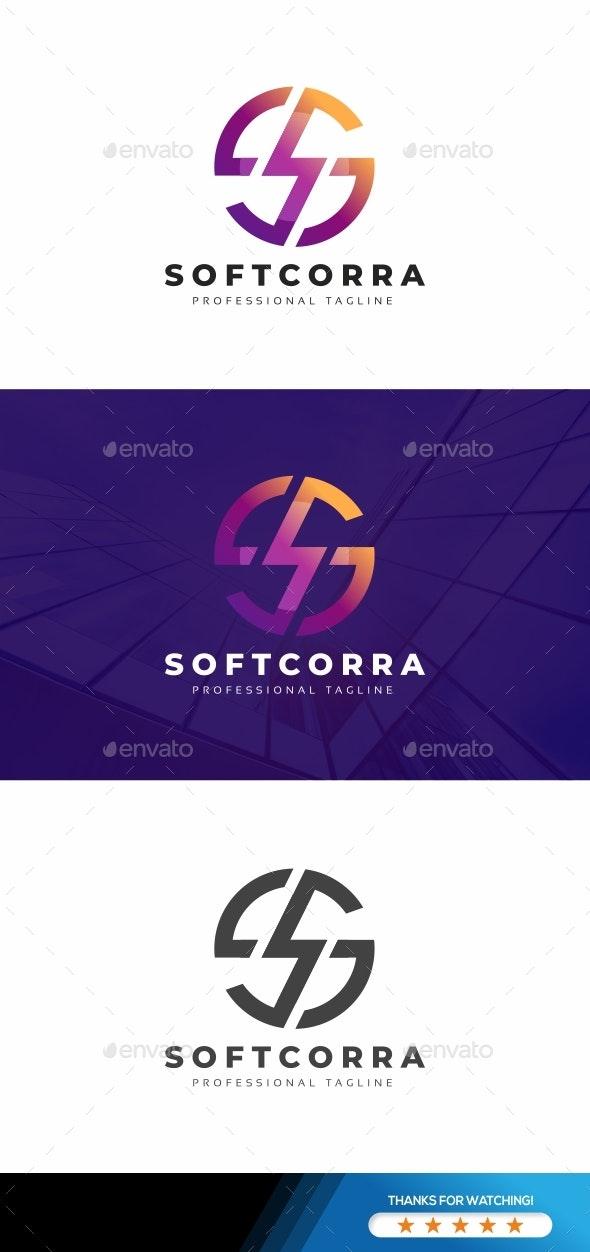 S Letter Power Logo - Letters Logo Templates