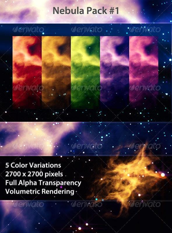 Volumetric Nebula Pack #1 - 3D Backgrounds