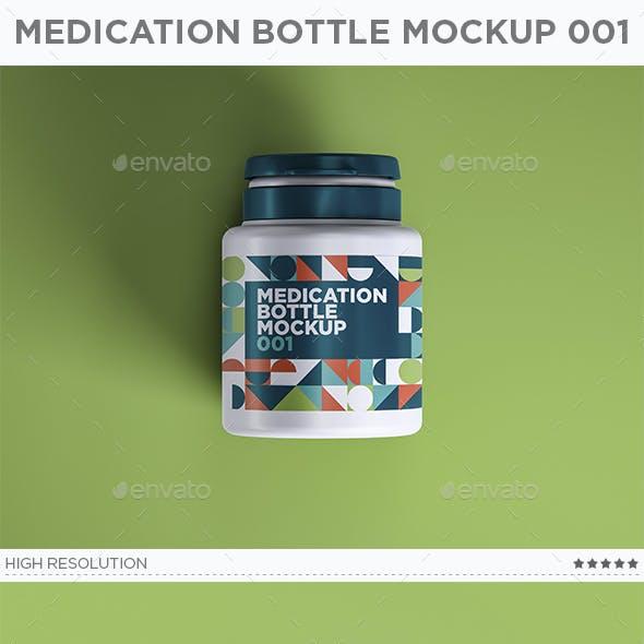 Medication Bottle Mockup 001
