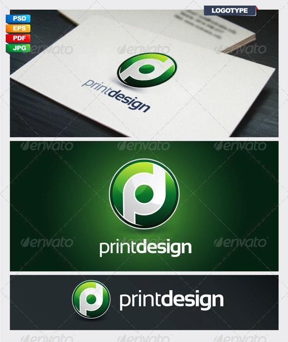 Print Design Logotype - Vector Abstract