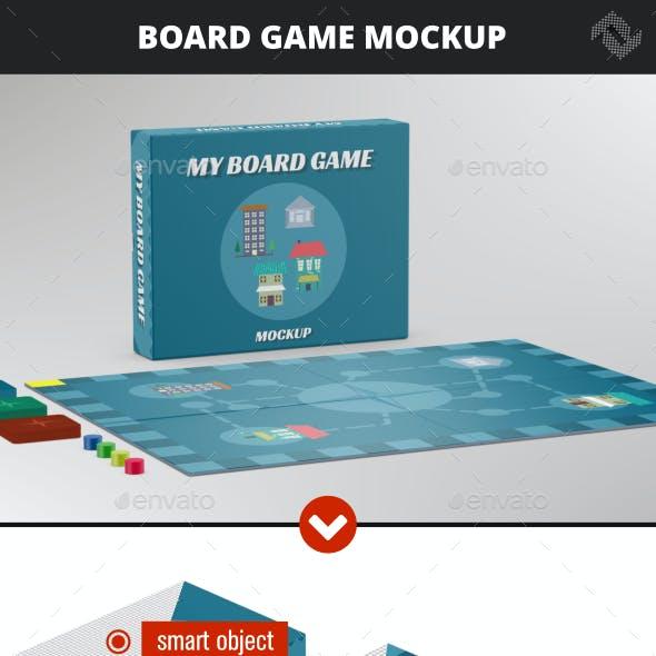 Board Game Mockup