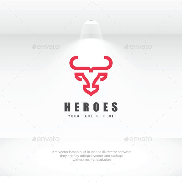 Bull Heroes Logo