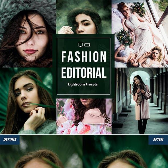 Fashion Editorial Lightroom Presets For Mobile & Desktop