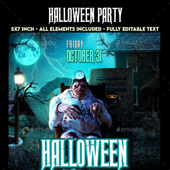 Halloween Evil Party