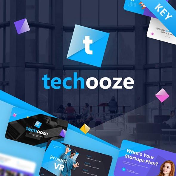 Techooze Startup Modern Keynote Template