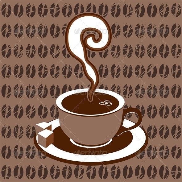 Coffee cup icon - Decorative Symbols Decorative