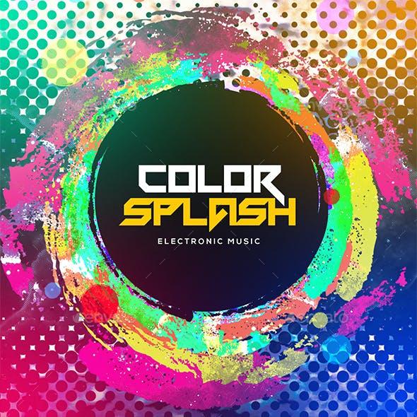 Color Splash - Music Album Cover
