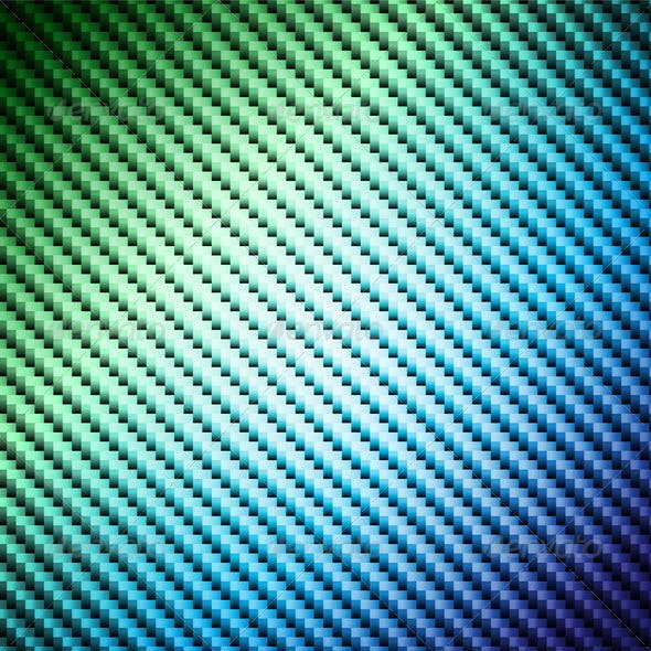 Abstract shiny background with carbon pattern.