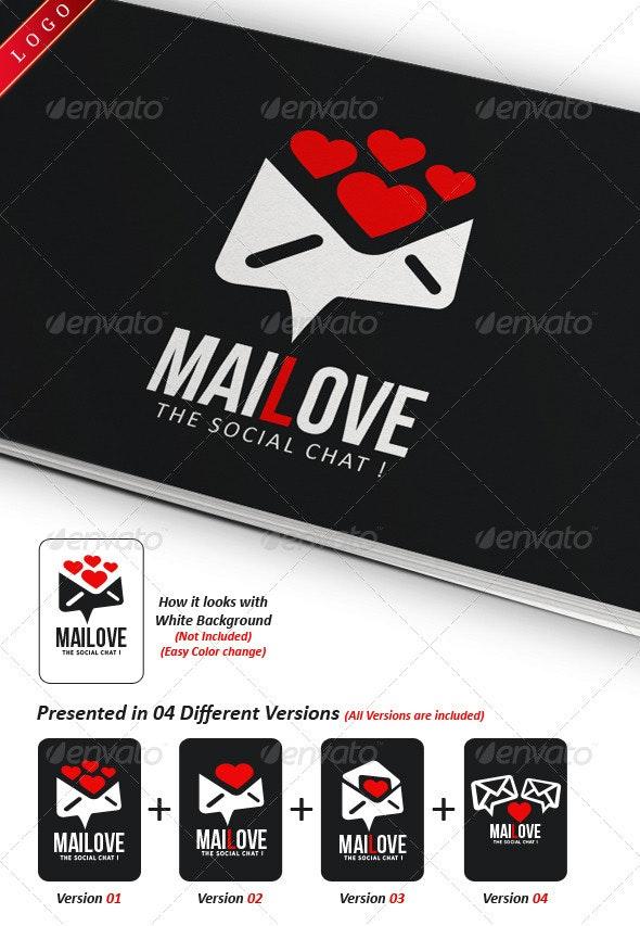 Mailove Logo Template - Symbols Logo Templates