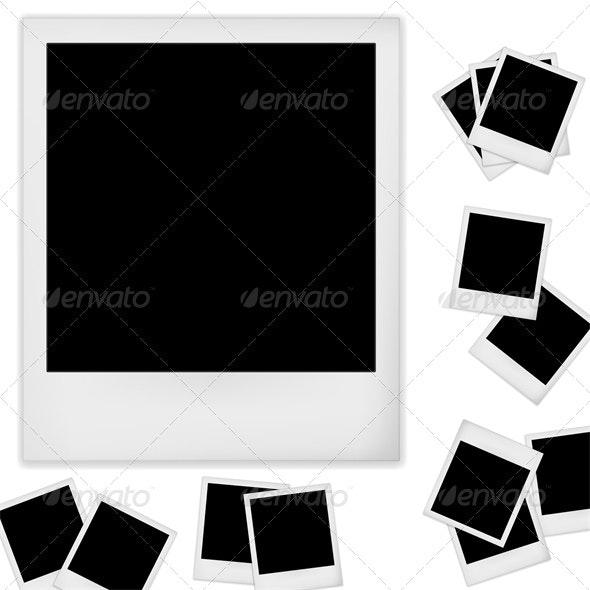 Polaroid photo - Backgrounds Decorative