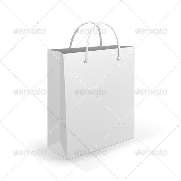 Shopping Bag - Retail Commercial / Shopping
