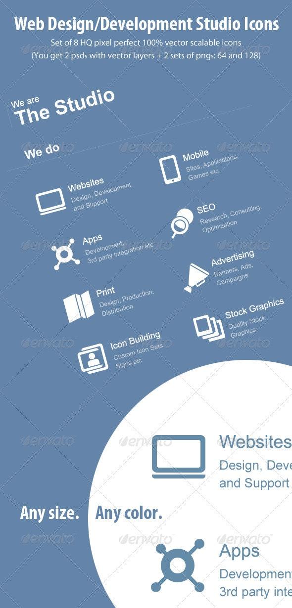 Vector Studio Icons - Web Icons