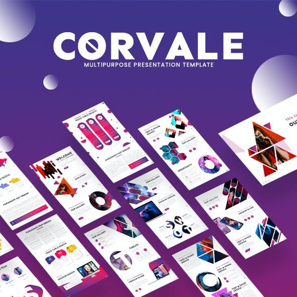 Corvale Multipurpose Keynote Template