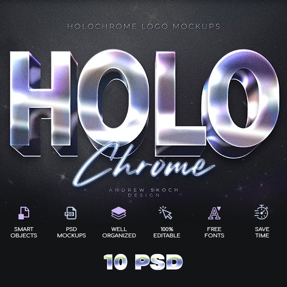 Holochrome Text Effects