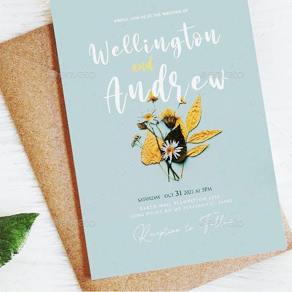 Printable Wedding Invites Template