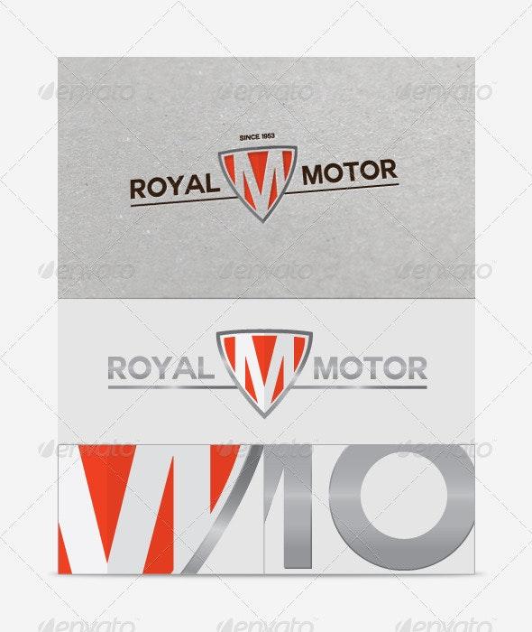 Royal Motor Logo Template - Crests Logo Templates