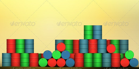Oil Drums - Industries Business