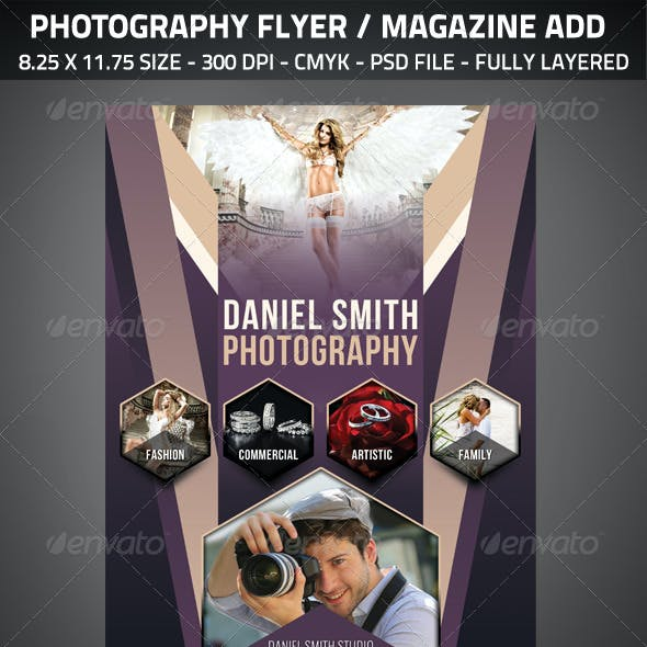 Photography Flyer / Magazine Add