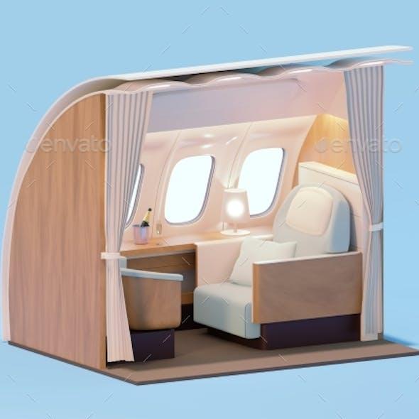 Airplane Interior