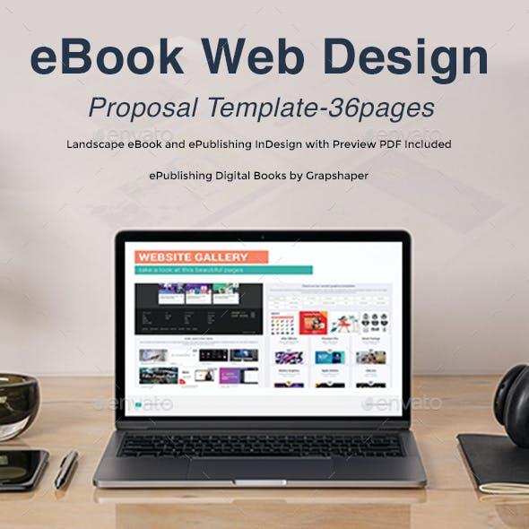 eBook Web Design Proposal Template