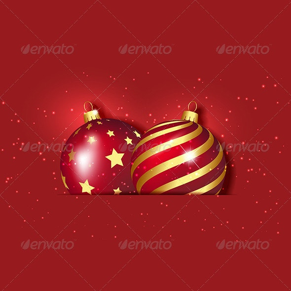 Christmas baubles - Christmas Seasons/Holidays