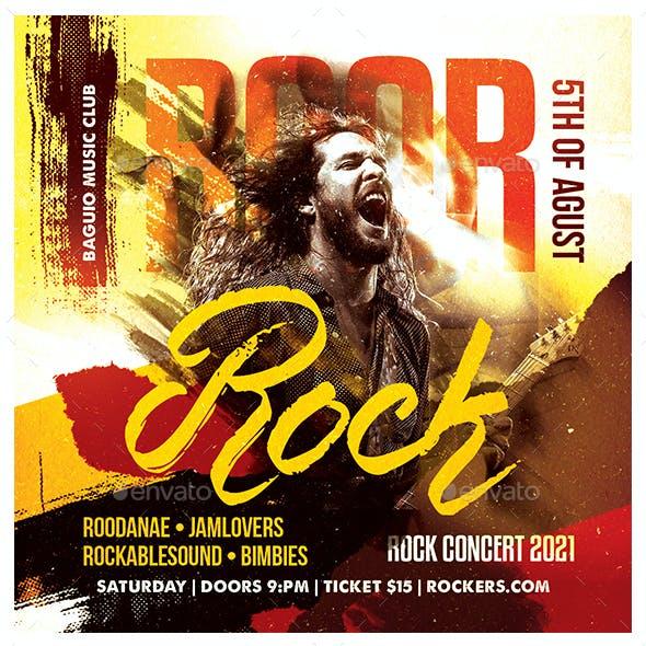 Roar Rock Flyer