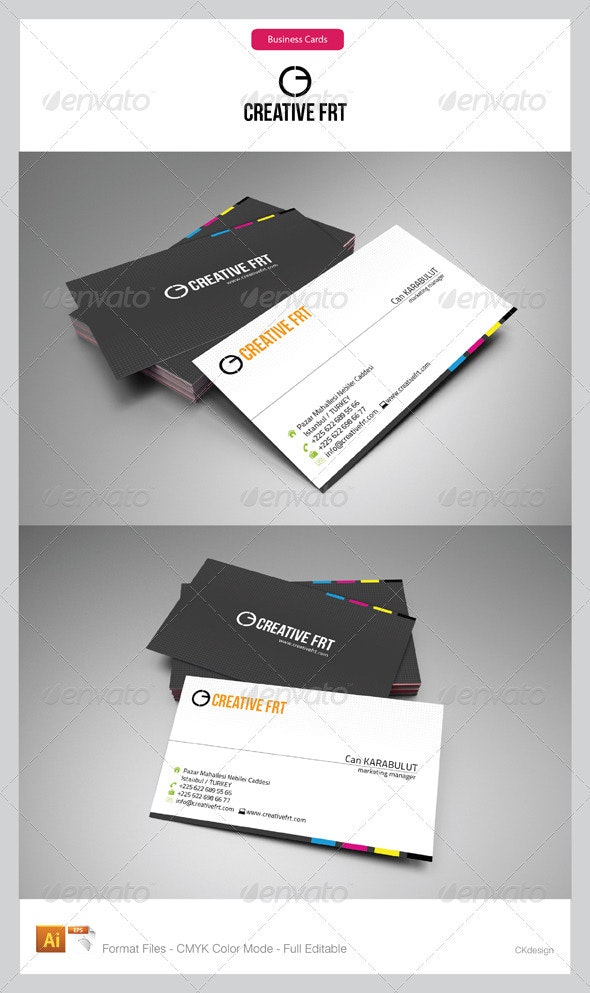 Corporate Business Card 51 - Creative Business Cards