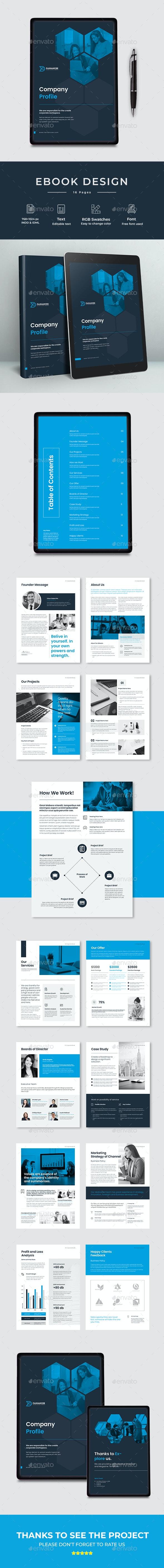 Corporate Ebook Template - Digital Books ePublishing
