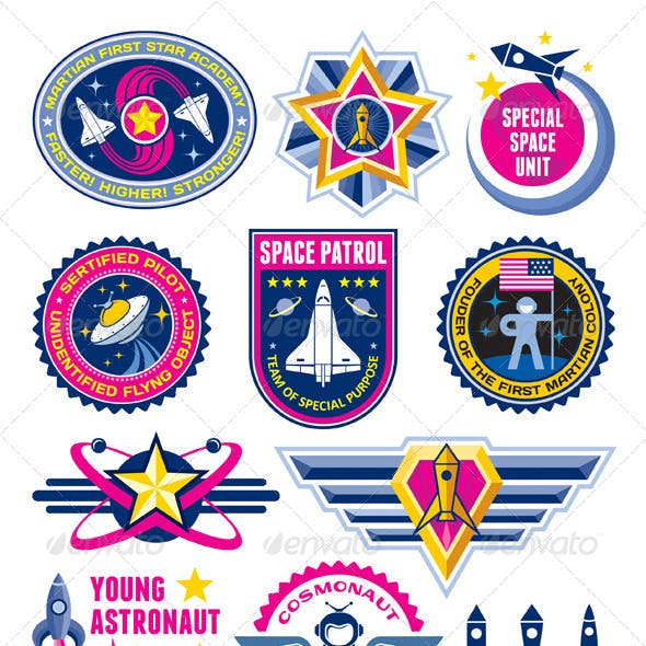 Space Badges & Labels