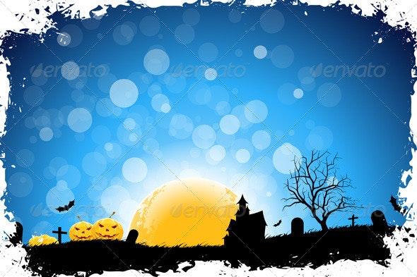 Halloween Night - Christmas Seasons/Holidays
