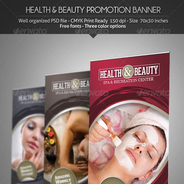 Health & Beauty - Promotion Banner