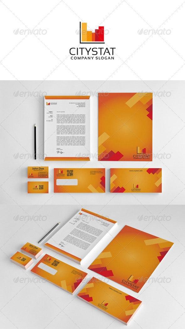 Corporate Stationey City Stat - Stationery Print Templates