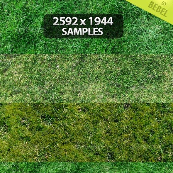 9 Grass Texture Pack