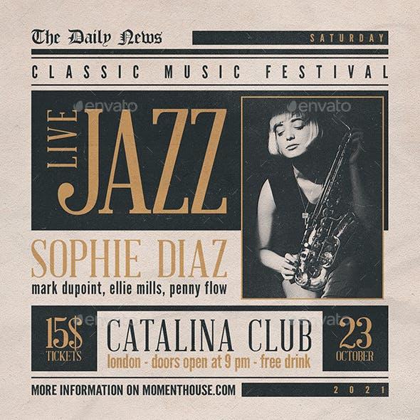 Jazz Flyer/Poster