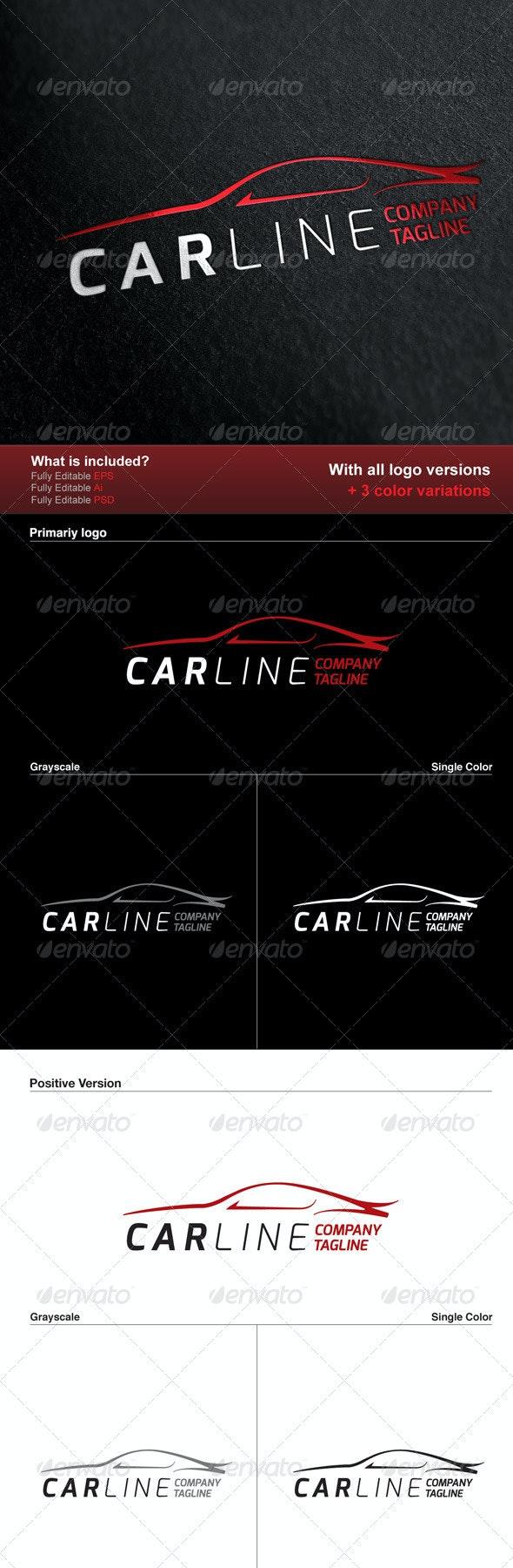 Car Line Logo - Logo Templates