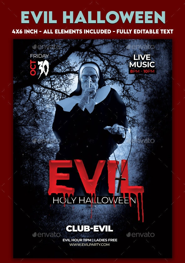 Evil Halloween Party - Clubs & Parties Events