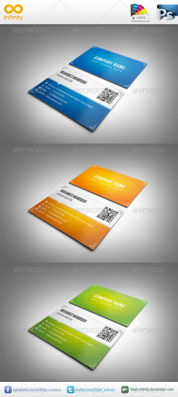 Classic Business Card - Business Cards Print Templates