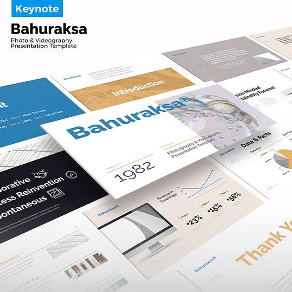 Bahuraksa - Photo & Video Portfolio Presentation KEY Template