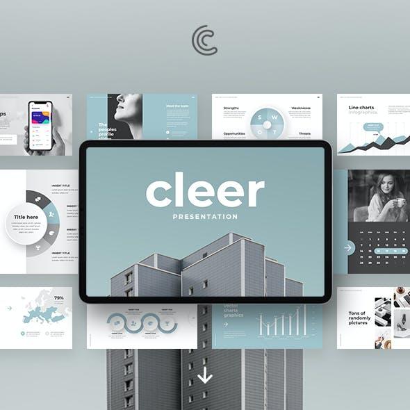 Cleer PowerPoint Template