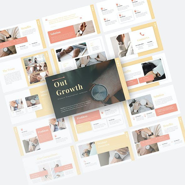 Outgrowth Product Presentation Template