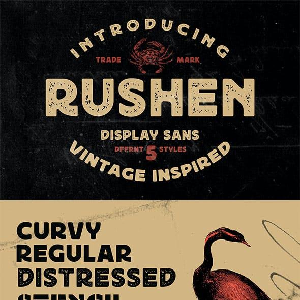 Rushen - Vintage Inspired