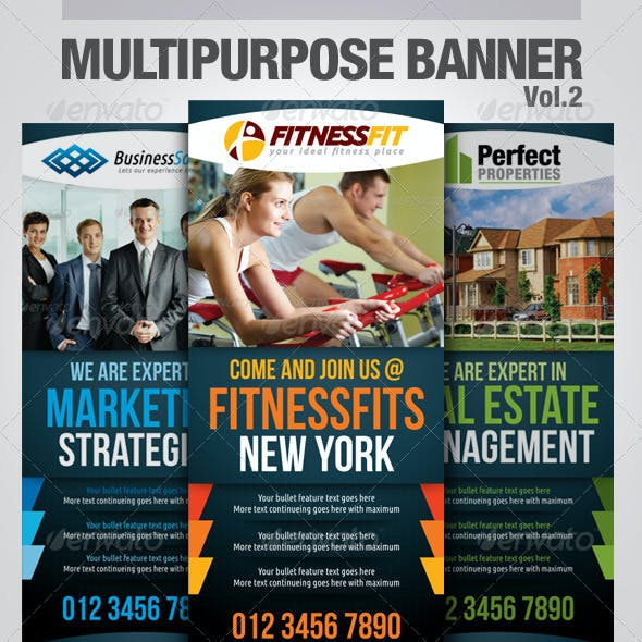 Multipurpose Banner Vol.2